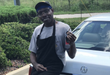 Photo of Beloved restaurant employee gifted car by anonymous customer | Yahoo! Voices