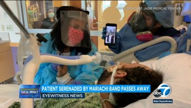 Photo of COVID-19 patient who was serenaded by mariachi dies in hospital | KABC-TV