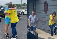 Photo of A Such-n-Such Surprise: Restaurant employee surprised with car from owners, staff   Anna Mahan