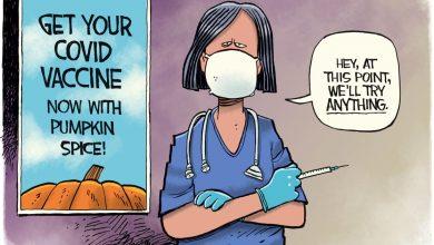 Photo of Cartoon: COVID Vaccine Pumpkin Spice | Columnists | tulsaworld.com