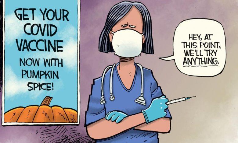 Photo of Cartoon: COVID Vaccine Pumpkin Spice   Columnists   tulsaworld.com