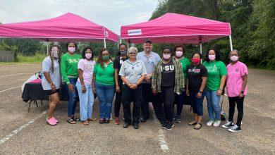 Photo of Alpha Kappa Alpha Sorority hosts COVID vaccine clinic in Starkville – WCBI